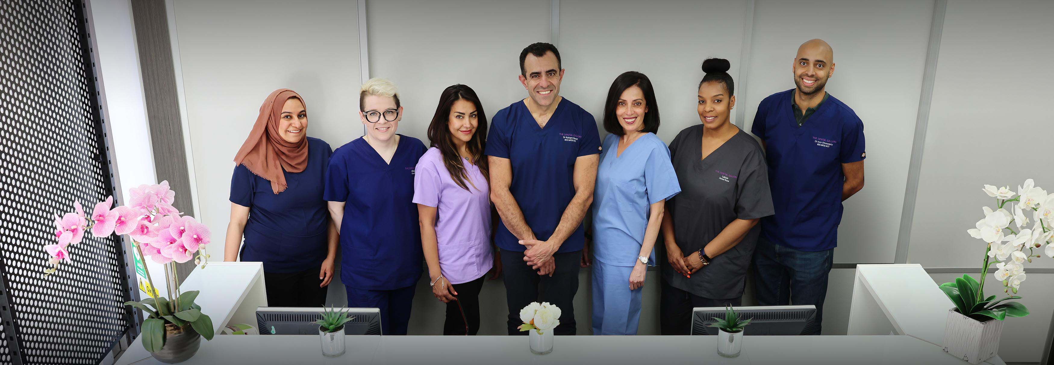 Meet the team at the Dental Gallery Ealing